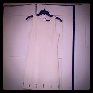 White House Black Market white dress size 0